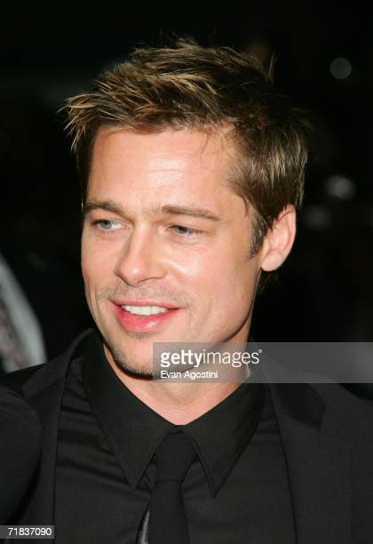 Actor Brad Pitt arrives at the Toronto International Film Festival gala presenation of the film Babel held at the Roy Thomson Hall on September 9...
