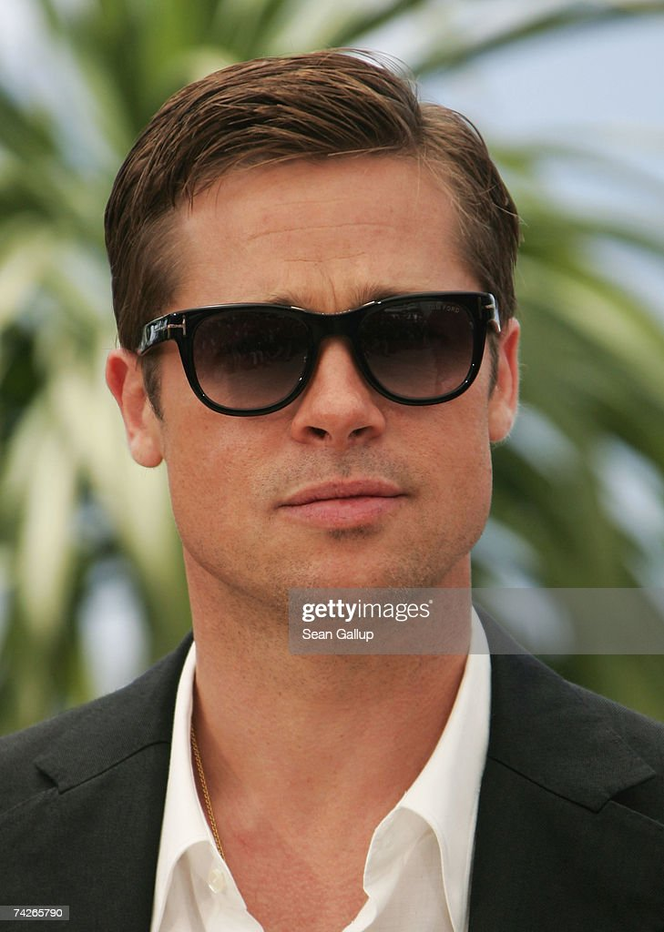 Actor Brad Pitt attends a photocall to promote the film 'Ocean's Thirteen' at the Palais des Festivals during the 60th International Cannes Film Festival on May 24, 2007 in Cannes, France.