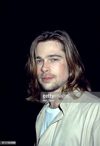 Actor Brad Pitt attends an event circa 1993 in Los Angeles California