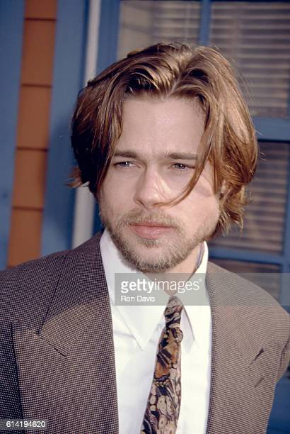 Actor Brad Pitt attends the 1992 7th Annual IFP/West Independent Spirit Awards on March 28 1992 at Raleigh Studios in Los Angeles California