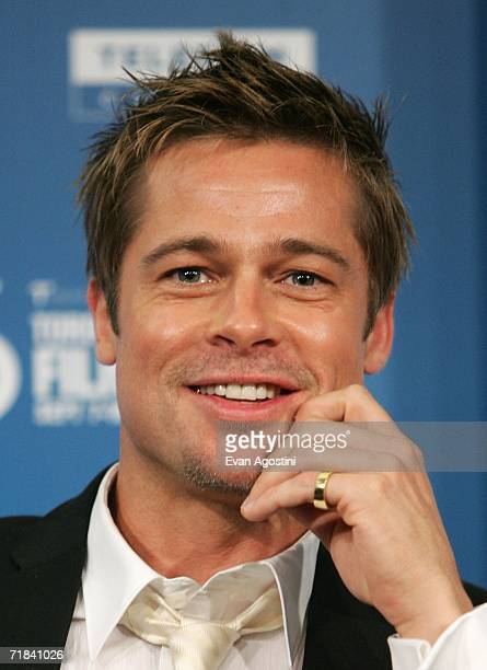 Actor Brad Pitt attends the Babel press conference during the Toronto International Film Festival held at the Sutton Place Hotel on September 10 2006...