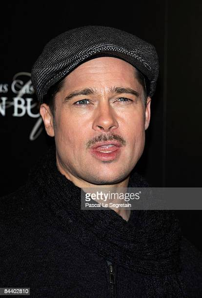 Actor Brad Pitt attends  The Case of Benjamin Button  Paris photocall at  the Gaumont.   c23071330dc