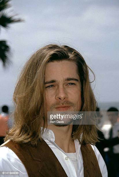 Actor Brad Pitt attends the Eighth Annual IFP/West Independent Spirit Awards on March 27 1993 in Santa Monica California