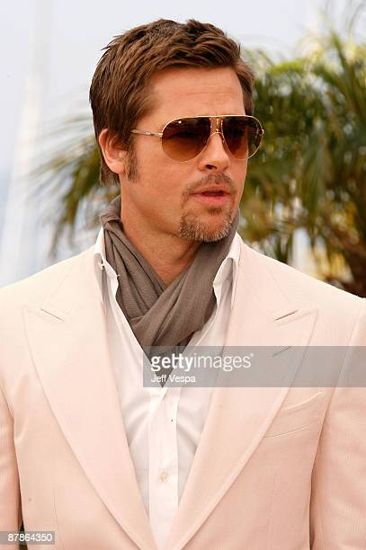 b1a72b20b0 Actor Brad Pitt attends the   Inglourious Basterds  Photo Call at the Palais  des