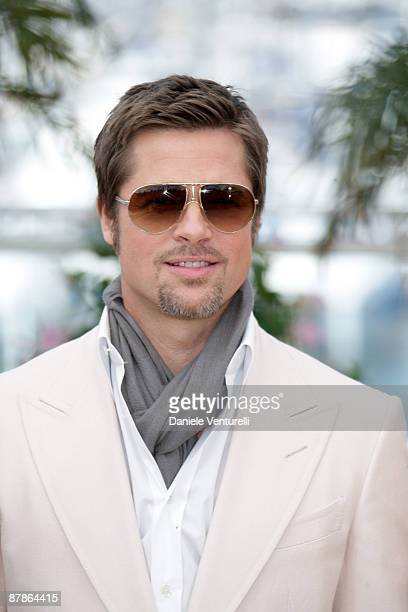 eed0d30880 Actor Brad Pitt attends the  Inglourious Basterds  Photo Call at the Palais  des Festivals