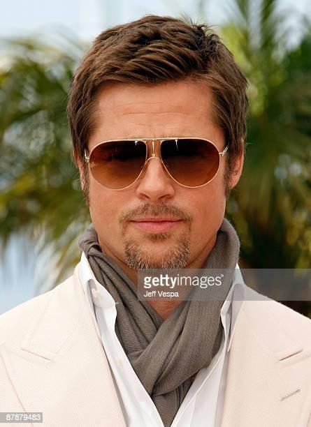 a973b1b620 Actor Brad Pitt attends the   Inglourious Basterds  Photo Call at the Palais  des.