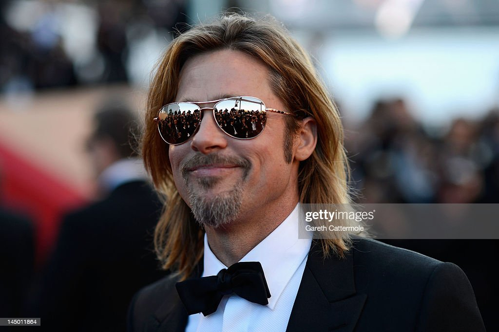 Actor Brad Pitt attends the 'Killing Them Softly' Premiere during 65th Annual Cannes Film Festival at Palais des Festivals on May 22, 2012 in Cannes, France.