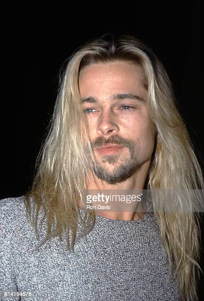 Actor Brad Pitt attends the Legends of the Fall Los Angeles Premiere at the Mann Village Theatre on November 30 1994 in Westwood California