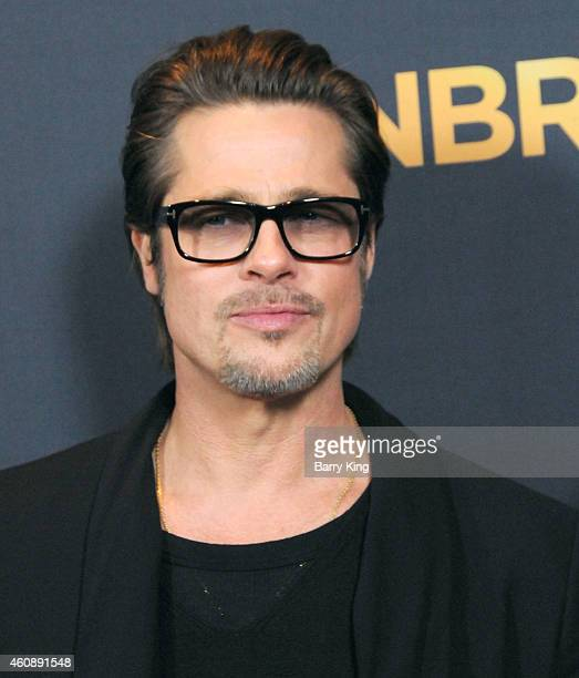 Actor Brad Pitt attends the premiere of 'Unbroken' at TCL Chinese Theatre IMAX on December 15 2014 in Hollywood California