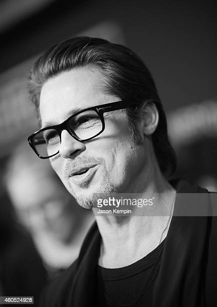 Actor Brad Pitt attends the premiere of Unbroken at TCL Chinese Theatre on December 15 2014 in Hollywood California