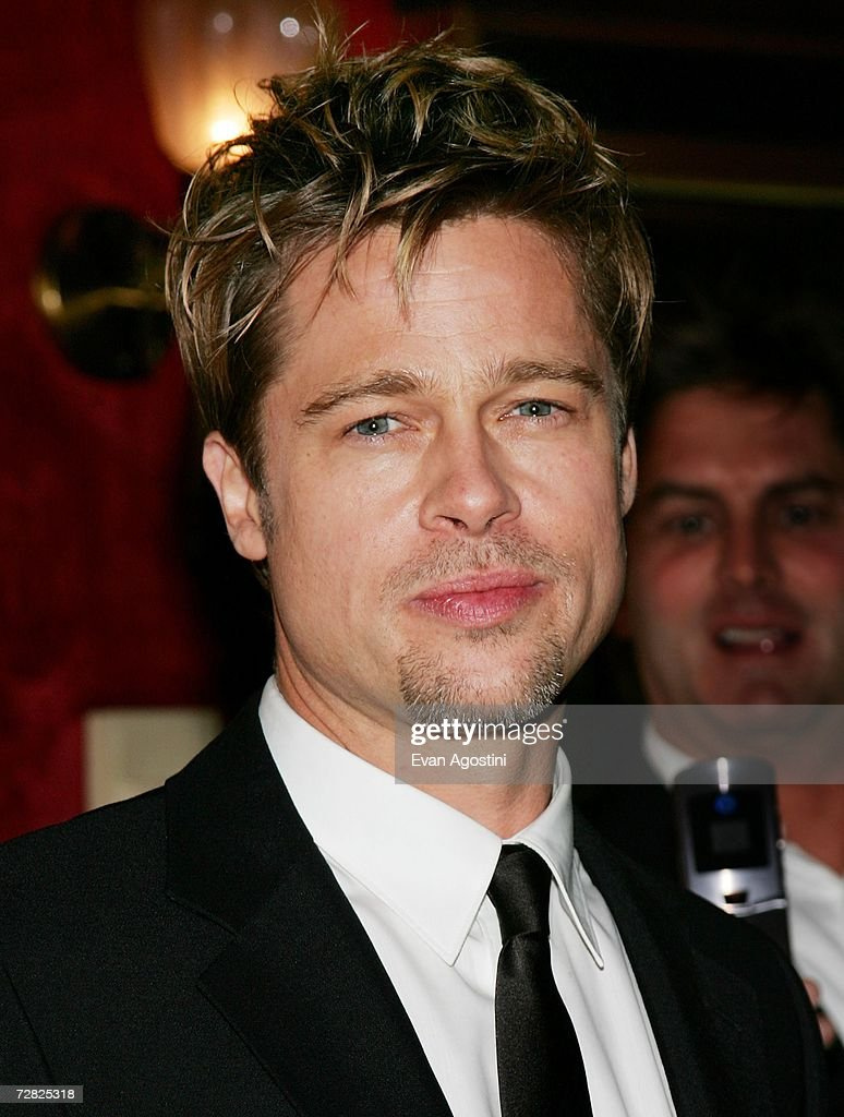 Actor Brad Pitt attends the World Premiere of 'The Good Shepherd' presented by Universal Pictures at the Ziegfeld Theatre on December 11, 2006 in New York City.