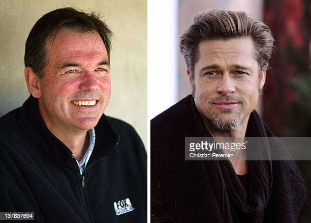 In this composite image a comparison has been made between Billy Beane and Actor Brad Pitt Oscar hype continues this week with the announcement of...