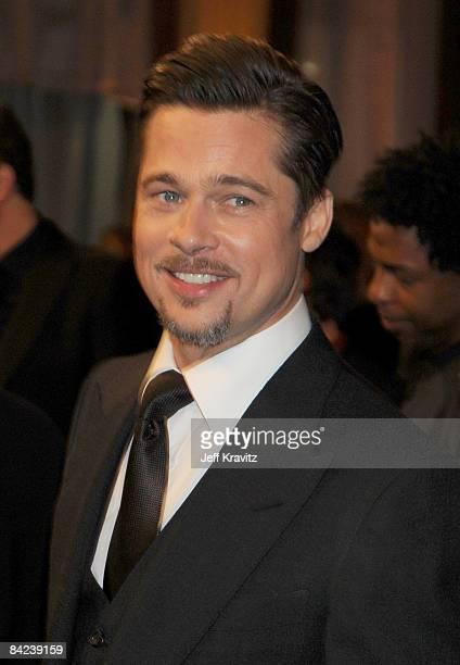 Actor Brad Pitt during VH1's 14th Annual Critics' Choice Awards held at the Santa Monica Civic Auditorium on January 8 2009 in Santa Monica California