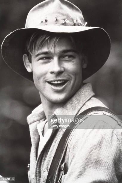 Actor Brad Pitt from 'A River Runs Through It' September 15 1991