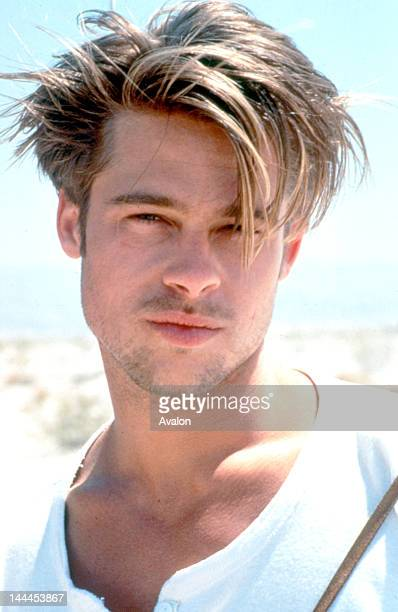 Actor Brad Pitt in his modelling days in the early 1990's