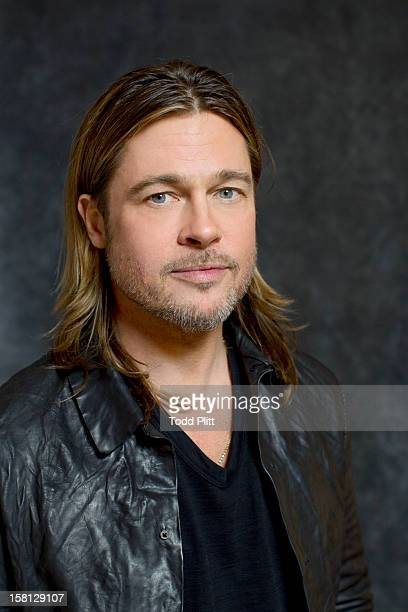 Actor Brad Pitt is photographed for USA Today on November 30 2012 in New York City