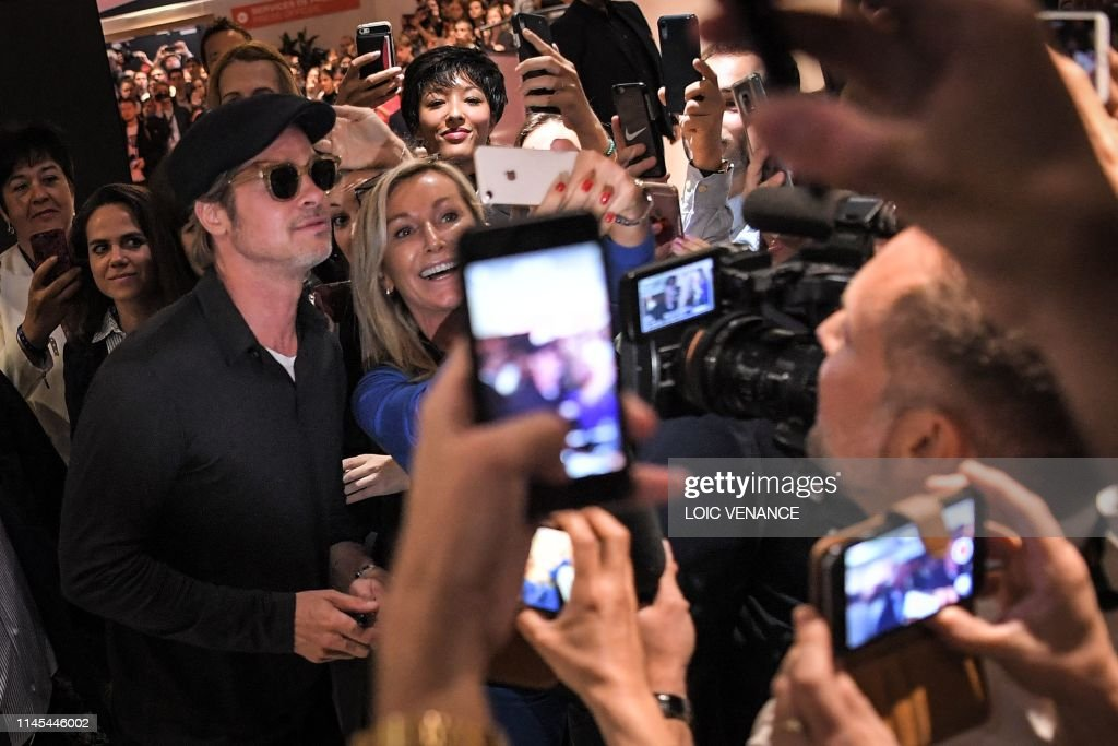 """FRA: """"Once Upon A Time In Hollywood"""" Press Conference - The 72nd Annual Cannes Film Festival"""