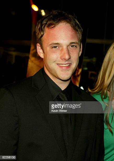 Actor Brad Renfro arrives at Warner Independent's Premiere of The Jacket at the Pacific ArcLight Theaters on February 28 2005 in Hollywood California