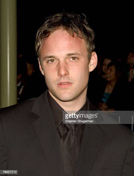 Actor Brad Renfro arrives at Warner Independent's Premiere of The Jacket at the Pacific ArcLight Theaters February 28 2005 in Hollywood California...