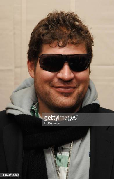 Actor Brad William Henke in Armani Exchange 056/s sunglasses visits the Hollywood Life House on January 20 2008 in Park City Utah 2008 Park City...