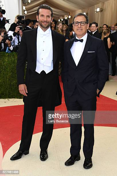 Actor Bradley Cooper and director David O Russell attend the 'Manus x Machina Fashion In An Age Of Technology' Costume Institute Gala at Metropolitan...