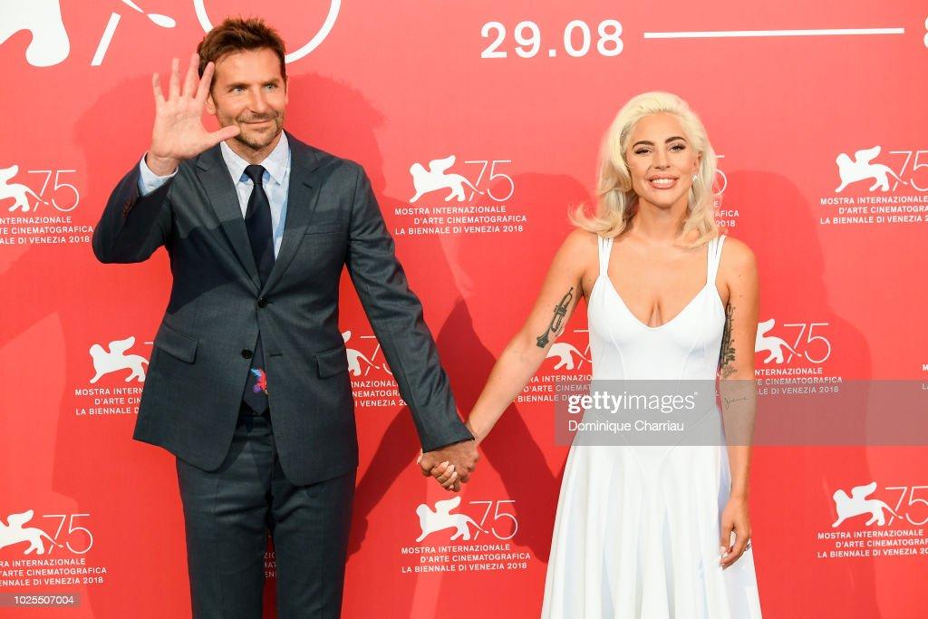 A Star Is Born Photocall - 75th Venice Film Festival : News Photo