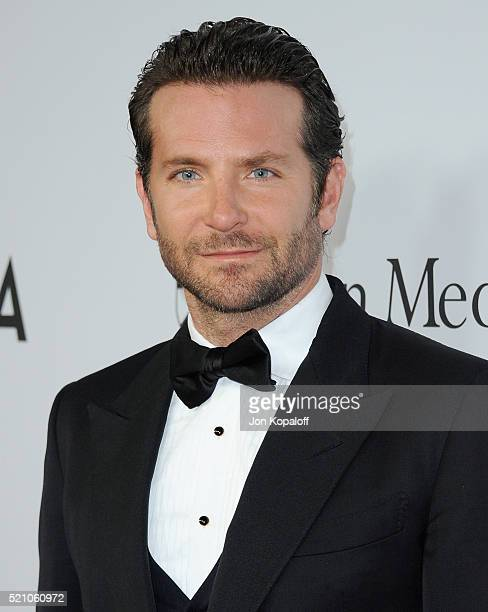 Actor Bradley Cooper arrives at Sean Parker And The Parker Foundation Launch The Parker Institute For Cancer Immunotherapy Gala on April 13 2016 in...