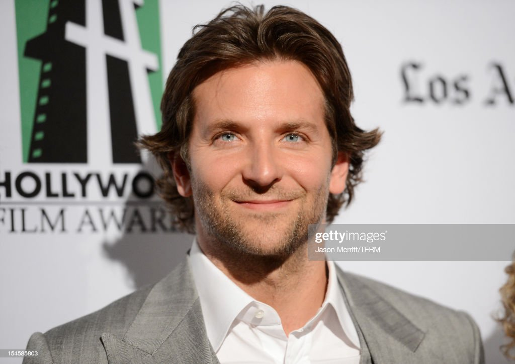 Actor Bradley Cooper arrives at the 16th Annual Hollywood Film Awards Gala presented by The Los Angeles Times held at The Beverly Hilton Hotel on October 22, 2012 in Beverly Hills, California.