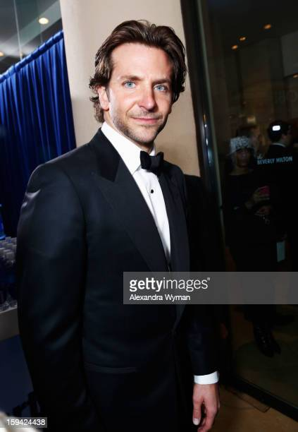 Actor Bradley Cooper arrives at the 70th Annual Golden Globe Awards held at The Beverly Hilton Hotel on January 13 2013 in Beverly Hills California