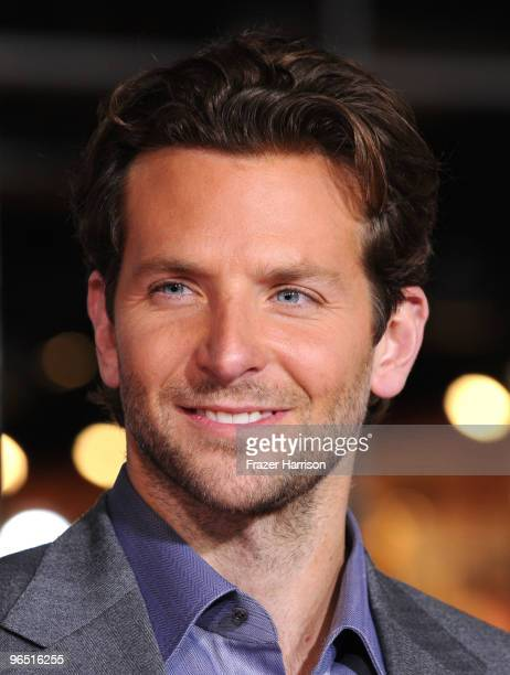 """Actor Bradley Cooper arrives at the premiere of New Line Cinema's 'Valentine's Day"""" held at Grauman's Chinese Theatre on February 8, 2010 in Los..."""