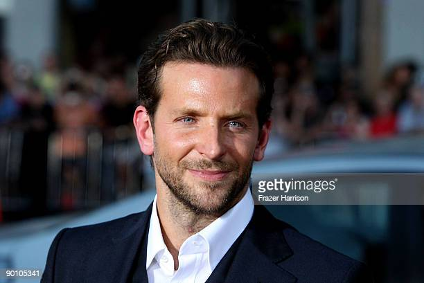 Actor Bradley Cooper arrives at the premiere of Twentieth Century Fox's 'All About Steve' held at Mann's Chinese Theater on August 26 2009 in Los...