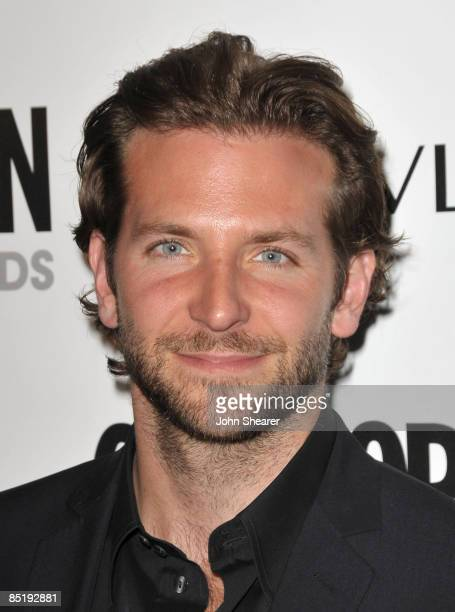Actor Bradley Cooper arrives to Cosmopolitan's 2009 Fun Fearless Awards at SLS Hotel on March 2, 2009 in Beverly Hills, California.