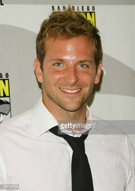 Actor Bradley Cooper arrives to the Lionsgate press panel at Comic-Con at the San Diego Convention Center on July 26, 2007 in San Diego, California.