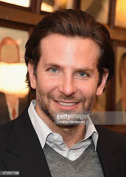 Actor Bradley Cooper attends Sardi's Caricature Unveiling at Sardi's on May 6 2015 in New York City