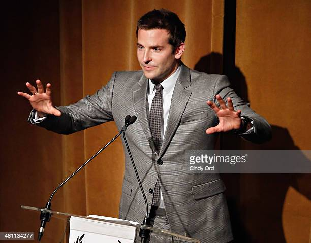 Actor Bradley Cooper attends the 2013 New York Film Critics Circle awards at The Edison Ballroom on January 6 2014 in New York City