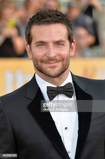 Actor Bradley Cooper attends the 20th Annual Screen Actors Guild Awards at The Shrine Auditorium on January 18 2014 in Los Angeles California