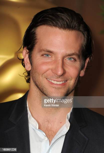 Actor Bradley Cooper attends the 85th Academy Awards Nominations Luncheon at The Beverly Hilton Hotel on February 4 2013 in Beverly Hills California