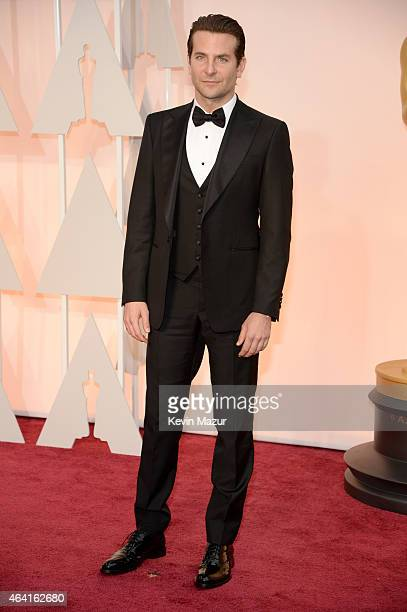 Actor Bradley Cooper attends the 87th Annual Academy Awards at Hollywood & Highland Center on February 22, 2015 in Hollywood, California.