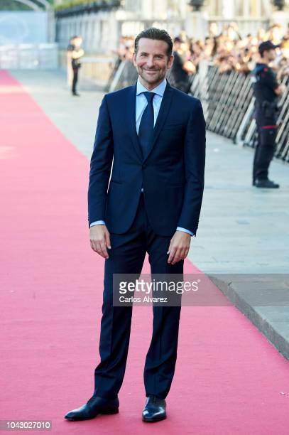 Actor Bradley Cooper attends the 'A Star Is Born' premiere during the 66th San Sebastian International Film Festival on September 29 2018 in San...
