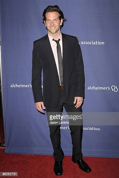 Actor Bradley Cooper attends the Alzheimer's Association's 17th annual A Night at Sardi's fundraiser at the Beverly Hilton Hotel on March 4 2009 in...