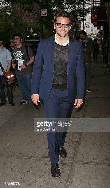 """Actor Bradley Cooper attends the Cinema Society & Bing screening of """"The Hangover Part II"""" at Landmark Sunshine Cinema on May 23, 2011 in New York..."""