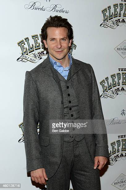 Actor Bradley Cooper attends The Elephant Man Broadway Opening Night After Party at Gotham Hall on December 7 2014 in New York City