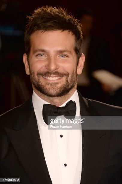 Actor Bradley Cooper attends the Oscars held at Hollywood Highland Center on March 2 2014 in Hollywood California