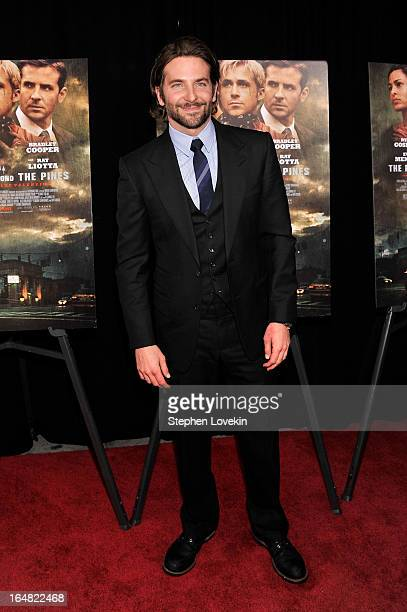 Actor Bradley Cooper attends The Place Beyond The Pines New York Premiere at Landmark Sunshine Cinema on March 28 2013 in New York City