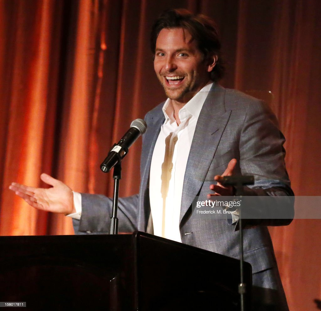 Actor Bradley Cooper attends the SBIFF's 2012 Kirk Douglas Award for Excellence In Film during the Santa Barbara Film Festival on December 8, 2012 in Goleta, California.