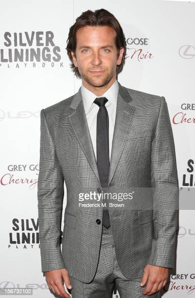 Actor Bradley Cooper attends the Screening Of The Weinstein Company's 'Silver Linings Playbook' at The Academy of Motion Pictures Arts and Sciences...