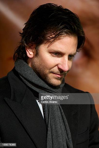 Actor Bradley Cooper attends the Silver Linings Playbook premiere at the Callao cinema on January 16 2013 in Madrid Spain