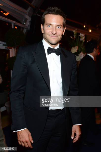 Actor Bradley Cooper attends The Weinstein Company Netflix's 2014 Golden Globes After Party presented by Bombardier FIJI Water Lexus Laura Mercier...