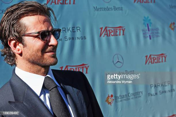 Actor Bradley Cooper attends Variety's '10 Directors To Watch' brunch at Parker Palm Springs on January 6 2013 in Palm Springs California