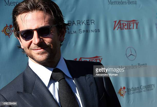 Actor Bradley Cooper attends Variety's 10 Directors To Watch brunch at Parker Palm Springs on January 6 2013 in Palm Springs California